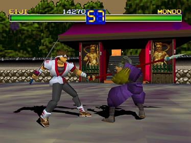 Battle Arena Toshinden - Screenshot - Gameplay