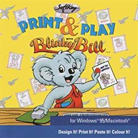 Print and Play with Blinky Bill