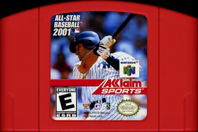 All-Star Baseball 2001 - Cart - Front