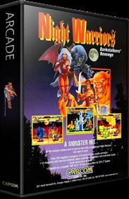 Night Warriors: Darkstalkers' Revenge - Box - 3D