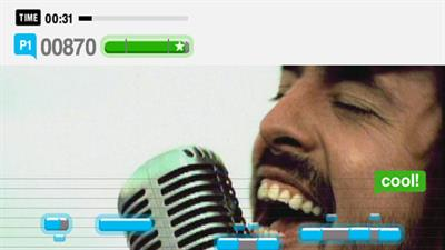 Singstar: Amped - Screenshot - Gameplay