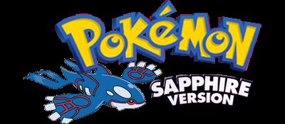 Pokémon Sapphire Version - Clear Logo
