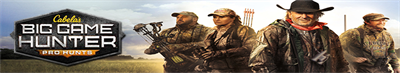 Cabela's Big Game Hunter: Pro Hunts - Banner