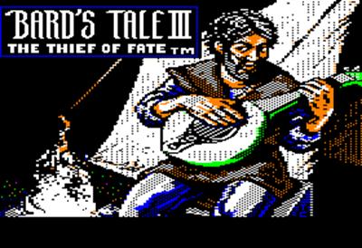 The Bard's Tale III: Thief of Fate - Screenshot - Game Title