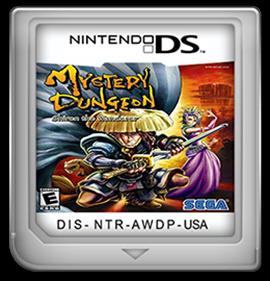 Mystery Dungeon: Shiren the Wanderer - Fanart - Cart - Front