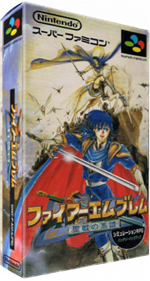 Fire Emblem: Seisen no Keifu - Box - 3D