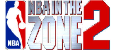 NBA in the Zone '99 - Clear Logo