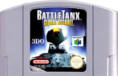 BattleTanx: Global Assault - Cart - Front