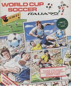 Rick Davis's World Trophy Soccer - Box - Front
