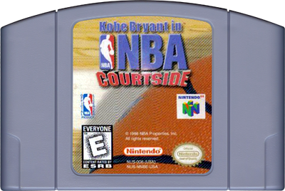 Kobe Bryant in NBA Courtside - Cart - Front