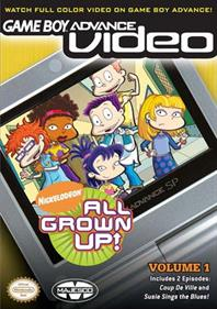 Game Boy Advance Video: All Grown Up: Volume 1