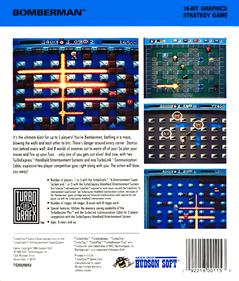 Bomberman - Box - Back