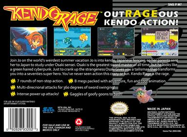 Kendo Rage - Box - Back