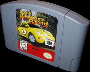Beetle Adventure Racing! - Cart - 3D