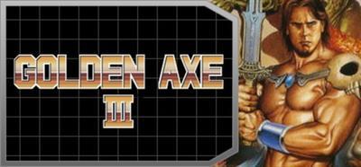 Golden Axe III - Banner