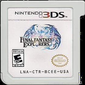 Final Fantasy: Explorers - Cart - Front