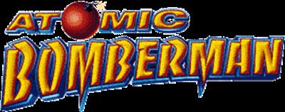 Atomic Bomberman - Clear Logo