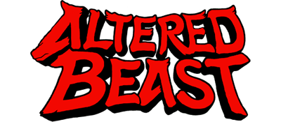 Altered Beast - Clear Logo