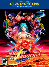 Night Warriors: Darkstalkers' Revenge - Fanart - Box - Front