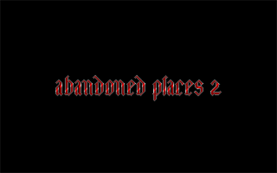 Abandoned Places 2 - Screenshot - Game Title