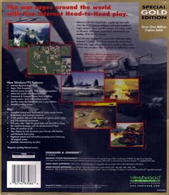 Command & Conquer (Special Gold Edition) - Box - Back