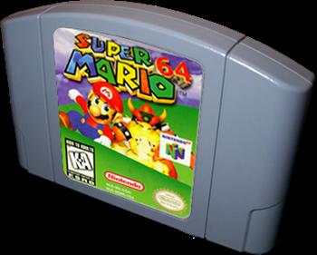 Super Mario 64 - Cart - 3D