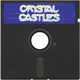 Crystal Castles: Diamond Plateaus in Space - Fanart - Disc