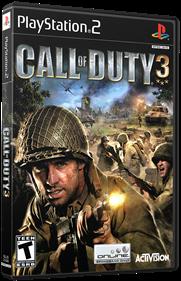 Call of Duty 3 - Box - 3D