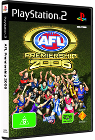 AFL Premiership 2006 - Box - 3D