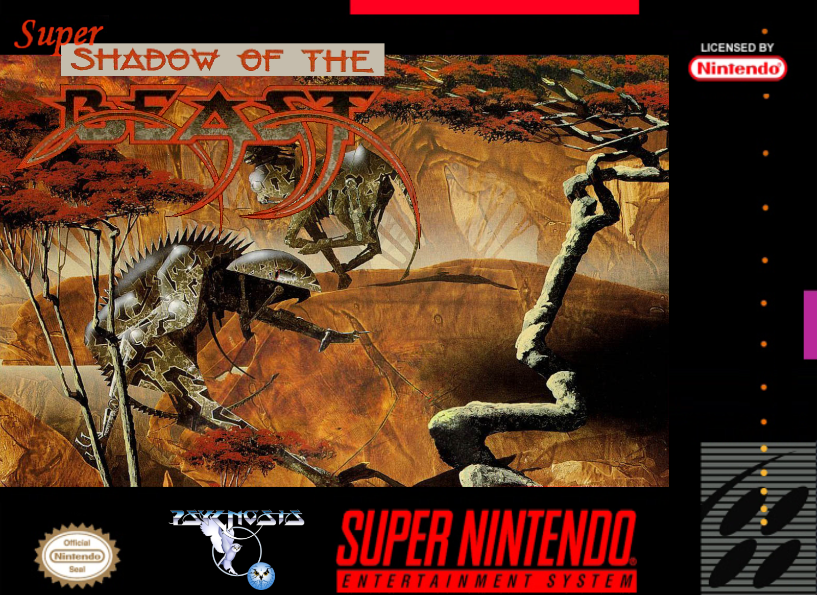 Super Shadow Of The Beast Details Launchbox Games Database