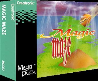 Magic Maze - Box - 3D