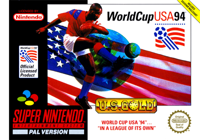 World Cup USA 94 - Box - Front