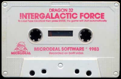 Intergalactic Force - Cart - Front