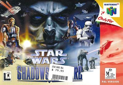 Star Wars: Shadows of the Empire - Box - Front