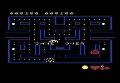 Pac-Man - Screenshot - Game Over