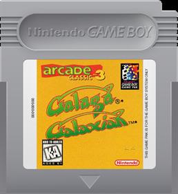 Arcade Classic 3: Galaga/Galaxian - Cart - Front