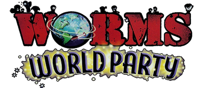 Worms World Party - Clear Logo