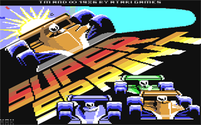 Super Sprint - Screenshot - Game Title