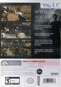 Medal of Honor: Heroes 2 - Box - Back