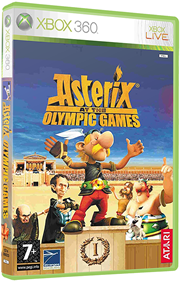 Asterix at the Olympic Games - Box - 3D