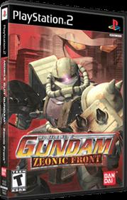 Mobile Suit Gundam: Zeonic Front - Box - 3D