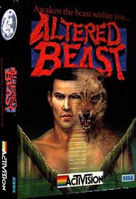 Altered Beast - Box - 3D