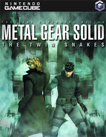 Metal Gear Solid: The Twin Snakes - Fanart - Box - Front