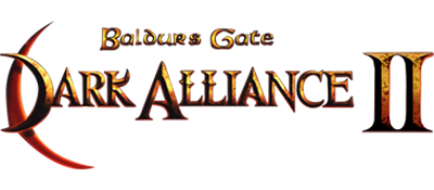 Baldur's Gate: Dark Alliance II - Clear Logo