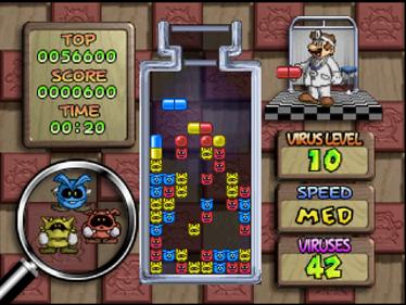 Dr. Mario 64 - Screenshot - Gameplay