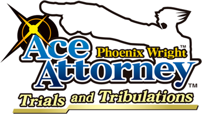 Phoenix Wright: Ace Attorney: Trials and Tribulations - Clear Logo