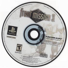 Front Mission 3 - Disc