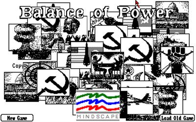 Balance of Power - Screenshot - Game Title