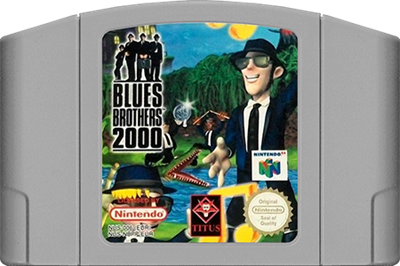 Blues Brothers 2000 - Cart - Front