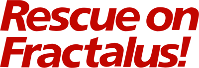 Rescue on Fractalus! - Clear Logo